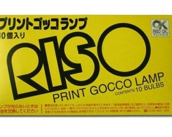 ON SALE! Riso Print Gocco Flash Bulbs - 1 Pack of 10 bulbs
