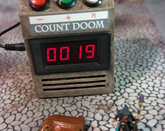 Count Doom™: GameMaster Count-Up Device w/ Remote for games like HackMaster and Aces and Eights
