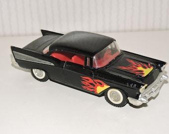 Vintage Majorette Chevy Bel Air 1/34 Scale Die Cast Car