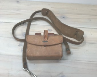 Leather Camera Pouch, Small Case,