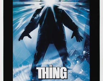 The Thing 1982 Cult Vintage Horror Film Movie Poster Print John Carpenter A3 A4
