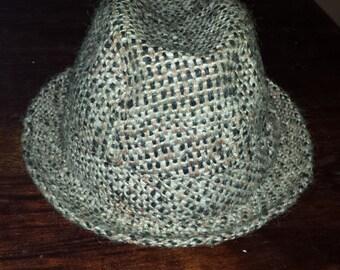 Men's wool vintage fedora