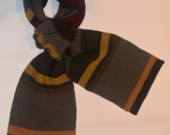 Doctor Who Hand-knitted Scarf - Tom Baker Style