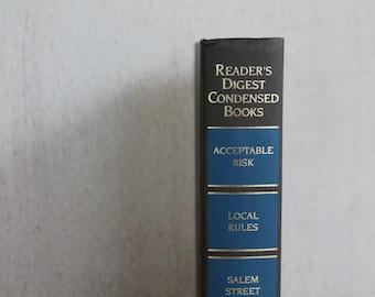 Vintage Reader's Digest Condensed Books // Volume 4 1995 // Grey & Blue
