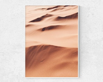 Desert Print, Sand Landscape, Windy Desert, Desert Photography, Printable Wall Art, Wall Decor, Digital Download