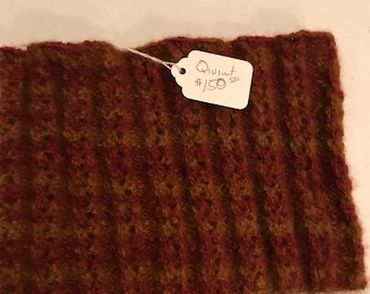 Qiviut Neckwarmer Arctic Autumn Knit