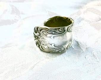Silver plated Spoon Ring