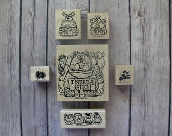 "2002 Stampin Up ""Monster Mania"" Stamps Set"