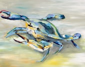 "Atlantic Crab, 13""x ..."