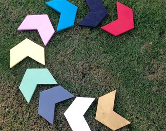 3 Colorful Arrows - Wall hanging - Decoration