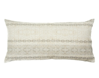 Boho, Southwest Printed, Linen, Cotton, Pillow Cover | 12x24, 20x20, 24x24 | 'Hayden'