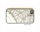 iPhone 4 Case. iPhone 4S Case. Vintage LA Pacific Map. California. Phone Case. Phone Cases. iPhone 4S Cases.