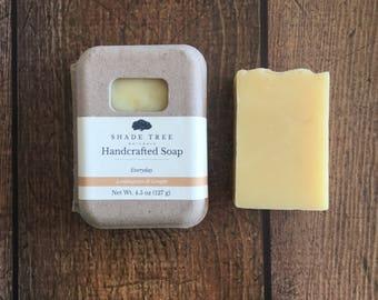 Lemongrass Ginger Soap. Herbal Soap. Citrus Soap. Lemongrass Soap. Natural Soap. Organic Soap. Gifts Under 10. Handcrafted. Natural Skincare