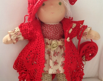 Waldorf doll Rose