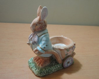 Beautiful Easter Bunny Candle Holder