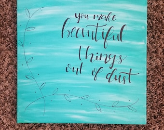 Beautiful Things Canvas