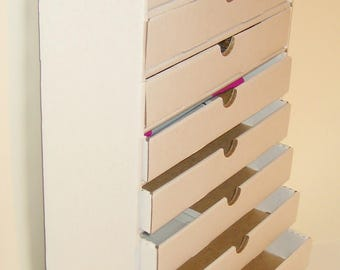 Ink Pad Palace +10 DRAWERS ink pad / crafting storage unit -you assemble