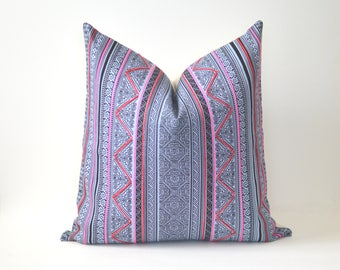 Hmong Hill Tribe Pillow Cover