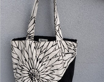 Upcycled Tote Bag, Handmade, One of a Kind