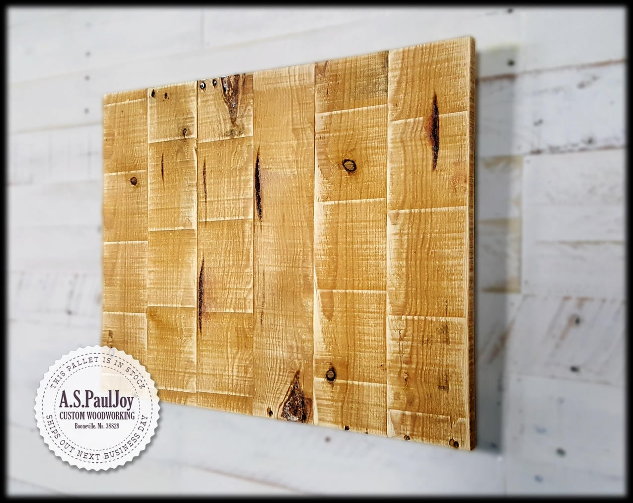 Pallet Wood Signs Blank Blank Pallet sign Empty Pallet Sign