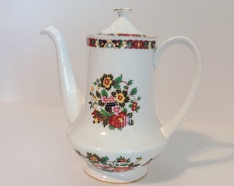 Royal Standard bone China coffee tea pot made in England.