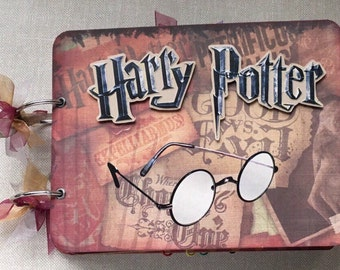 Harry Potter Premade Chipboard Album Just Add Photos