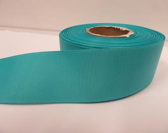 Grosgrain Ribbon 3mm, 6mm 10mm 16mm 22mm 38mm 50mm Rolls, Aquamarine Light Turquoise, 2, 10, 20 or 50 metres, Ribbed Double sided,