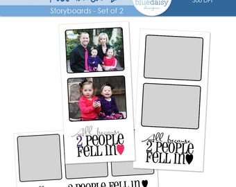 10 x 20 Storyboards (All Because) for Photographers - Photoshop Files