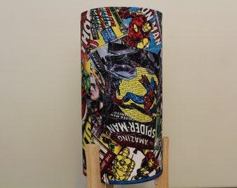 Marvel Super Hero Table Lamp - Avengers Lamp - Spiderman/Hulk/Iron Man/Captain America Bedside Table Lamp Refurbished