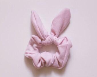 Pink Bunny Scrunchie