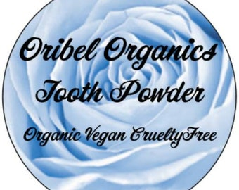 Organic Tooth Powder/ Whitening