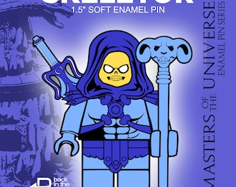 "Skeletor 1.5"" Soft Enamel Pin MOTU"