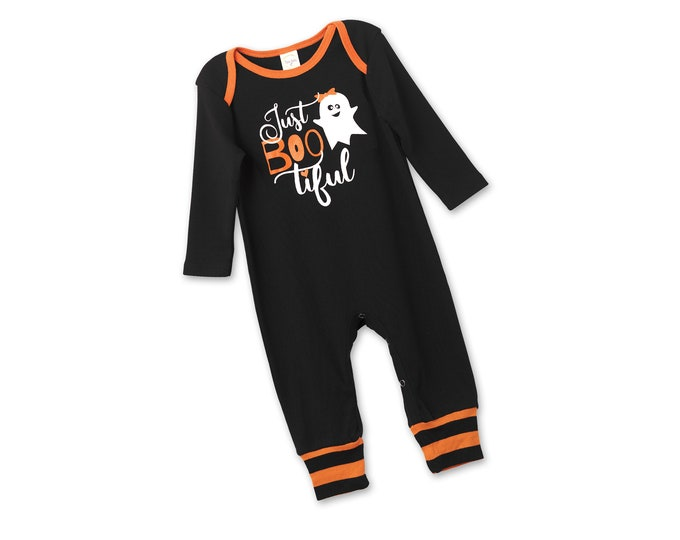 Baby Girl Halloween Pumpkin Outfit, Boo Halloween Onesie Baby Girl, Pumpkin Halloween Onesie, Newborn Halloween Bodysuit Boys Tesababe