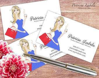 DIY Business Cards Printable Info Cards Template Business Card Template Digital Business Cards PDF Info Cards PDF Info Cards Template