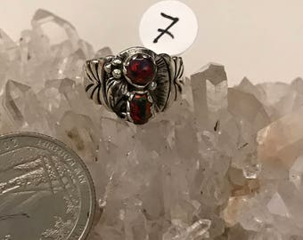 Fire Opal Ring, Size 7