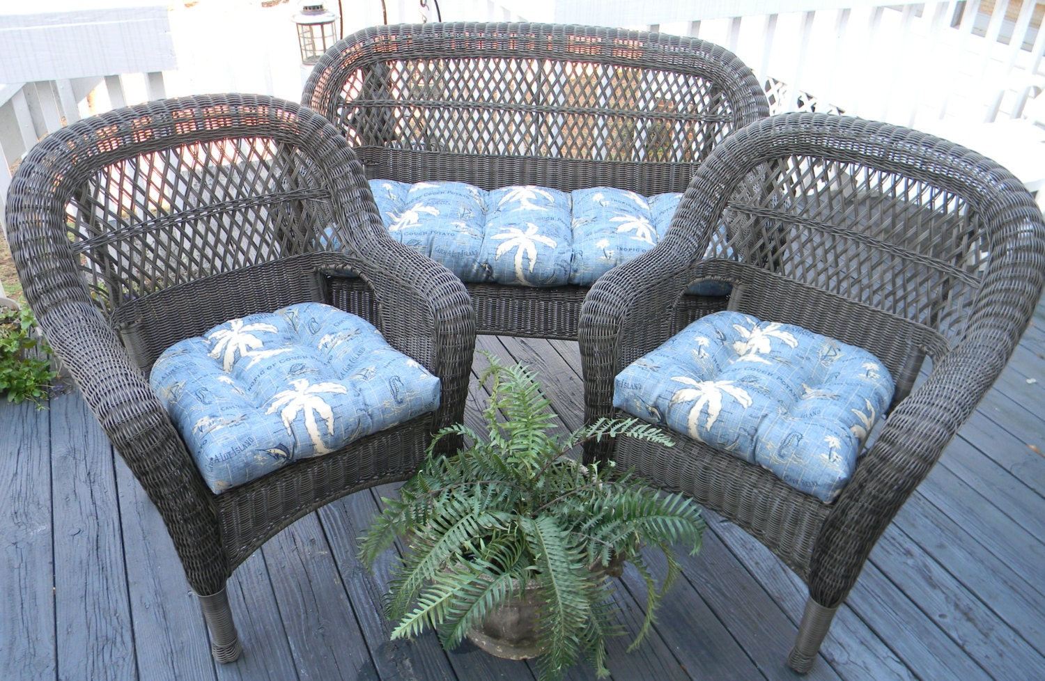vintage indoor outdoor round wicker and cushions for chairs the chair