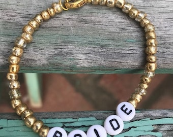 Beaded Bridal Bracelets