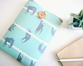Sloths Smart Phone Cover, Galaxy Note 5, iPhone 6S, iPhone 6 Fabric and Foam Padded Sleeve Pouch