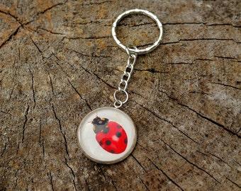 "Keychains ""Ladybug"""