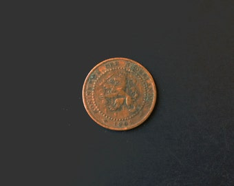 Netherlands Holland 1c One Cent Penny Coin 1901