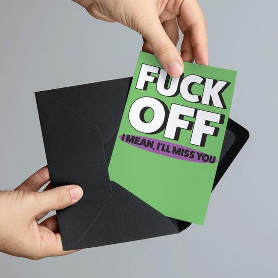 printable going away card