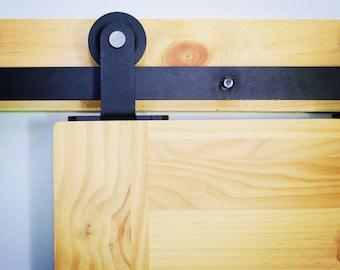 T shape design barn door hardware/sliding door kit 5ft,6ft,6.6ft 7.5ft 8ft 8.2ft 10ft 11ft 12ft 13ft 14ft 15ft 16ft
