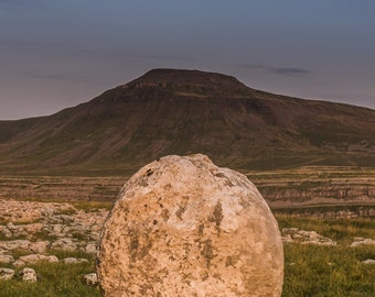 The Mountain and The Dragon's Egg; UK Landscape Photography Panoramic Print
