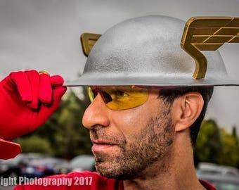 Golden age Flash Helmet