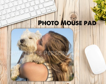 PHOTO MOUSE PAD, Custom photo mouse pad, photo mouse pad, personalized mouse pad, mouse pad, Computer mouse pad, Mother's Day gift