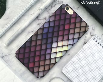 Diamond Scale iPhone Case iPhone X Case iPhone 8 Case iPhone 8 Plus Case iPhone 7 Case iPhone 7 Plus Case iPhone 6S Case 6S Plus Geometric