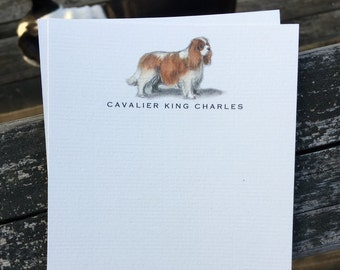 Cavalier King Charles Note Card Set