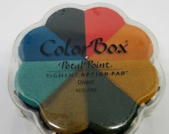 ColorBox Petal Point Pigment Ink Pad - ORIENT *NEW*