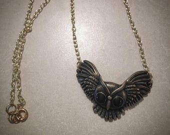 Brass Owl Necklace