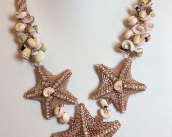 Beaded Starfish Tutorial/ Seed Bead Starfish/ 3D Starfish/ PDF Tutorial in English/Beadweaving